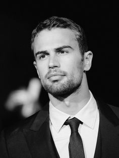 Pin for Later: These Hot British Boys Look Even Better in Black and White Theo James