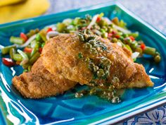 Chicken Piccata recipe from Trisha Yearwood via Food Network