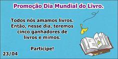 Fábrica dos Convites: Promoção Dia Mundial do Livro