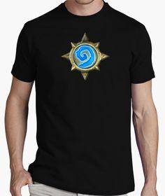 Eres un viciado al #Hearthstone? Entonces te gustará nuestra camiseta! #tshirt #gamer Mens Tops, T Shirt, Fashion, T Shirts, Tee, Moda, La Mode, Fasion, Fashion Models