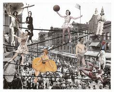 Lynn Skordal paper collage