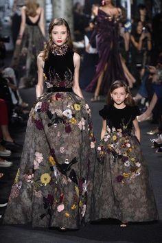 Elie Saab mother-daughter looks pt. 3