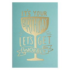 Buy Lagom Designs It's Your Birthday Card Online at johnlewis.com