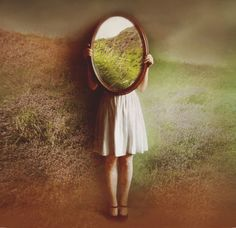 """500px / Photo """"the irish mirror"""" by Victoria Audouard///awesome + creative///"""