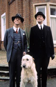 Hugh Laurie, Stephen Fry, Irish Wolfhound