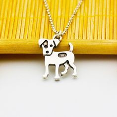 Jack Russell Lover Necklace