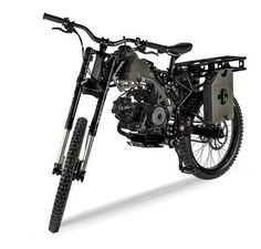 I so want the Motoped Survival Bike : TreeHugger