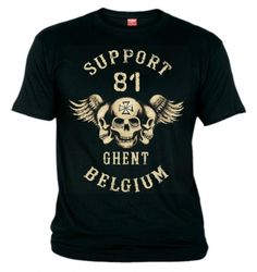Support your local Hells Angels with this t-shirt from Big Red Machine and  Support81