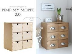 Manche IKEA Stücke sind praktisch und deswegen hat sie jeder. So macht ihr euren MOPPE einzigartig!