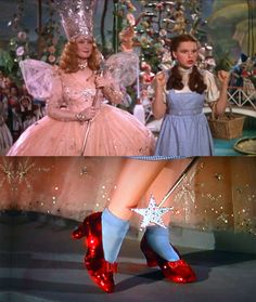 Judy Garland in The Wizard of Oz. Costume Design by Adrian Greenberg