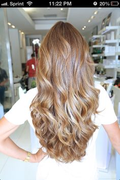 Thick curled brown hair. Curls waves brown shiny beautiful!