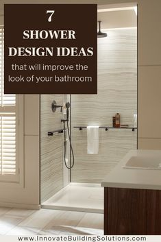 Did you realize there are exciting grout free shower wall options which you can get which are more interesting than the boring white fiberglass panels you see at a home center? Click through to learn more. Cheap Bathroom Remodel, Shower Remodel, Budget Bathroom, Bathroom Wall Decor, Small Bathroom, Bathrooms, Bathroom Remodeling, Master Bathroom, Bathroom Ideas
