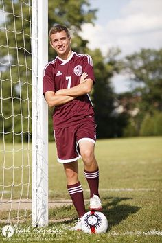 Soccer Senior Pictures Ideas for Guys