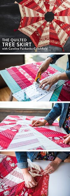 Introducing... The Quilted Tree Skirt! — SewCanShe | Free Daily Sewing Tutorials