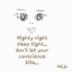 Nighty night #citaten #spreuken