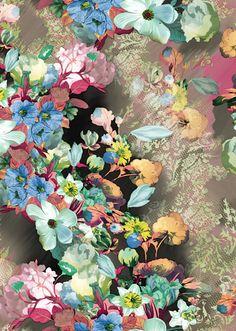 Antonieta Flower - Lunelli Textil | www.lunelli.com.br