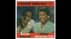 Mid March of 1960 you would have been hearing the radio playing  'Baby (You've Got What It Takes)'  sung by  the amazing Dinah Washington & Brook Benton.