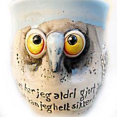 keramikk uglekopp