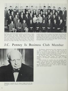 Northeast Missouri State College | The 1970 Echo | J.C. Penny becomes a Business…
