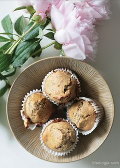 chocolate millet muffins (by Pure Ella)