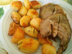 Benevento in cucina - Cosciotto d'agnello al forno (Piatto tipico di Pasqua)