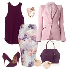 Look work #2 by ccarmemlucia on Polyvore featuring polyvore, fashion, style, Alexander McQueen, New Look, Chinese Laundry, Okapi, Michael Kors, Linda Farrow and clothing
