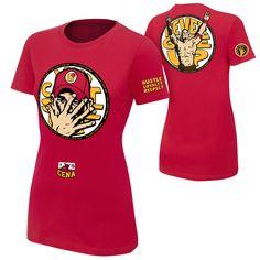 "John Cena ""U Can't C Me"" Women's Authentic T-Shirt"