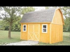 Gambrel Shed Project Plan 90028 Sheds Gambrel And