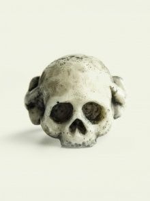 WHITE LILIAN SKULL  | JEWELLERY/ RINGS |  MACABRE GADGETS | NOT JUST A LABEL