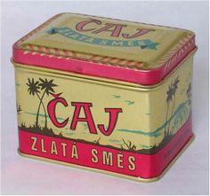 Čaj v plechové krabičce
