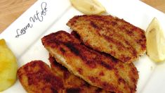 Crispy Tilapia Cutlets - Recipe by Laura Vitale - Laura in the Kitchen E...