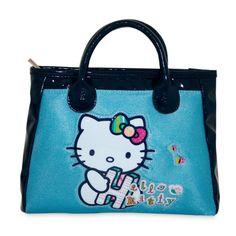Bolso neceser cartera Blue Hello Kitty - http://regalosoutletonline.com/tienda/hello-kitty/bolso-neceser-cartera-blue-hello-kitty