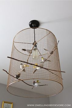 Charmant Antique Birdcage Light Uncovet | For The Home | Pinterest | Birdcage Light,  Lights And Birdcage Chandelier