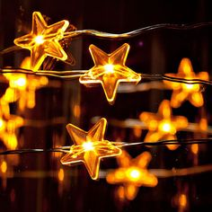 Twinkle Twinkle Little Star LED Battery operated string lights/ Perfect for Christmas via Etsy