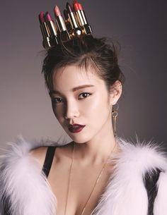 Han Eu Ddeum by Lee Seung Yeop for Ceci Korea Dec 2015
