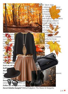 """""""FALL!! PLEASE BE GOOD!!~~"""" by av-anul ❤ liked on Polyvore featuring Balmain, Chicnova Fashion, RED Valentino, Forever 21, Christian Dior, Marni and Aurum By Gudbjorg"""