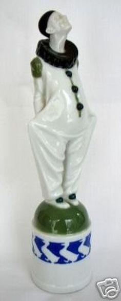 Rosenthal Pierrot Figure 1920's.