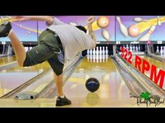 James Murphy Slow Motion Bowling Release (Two Handed)