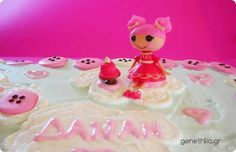 Η τουρτα Lalaloopsy της Δαναης! Danai's Lalaloopsy Cake with Royal Icing Buttons
