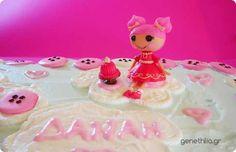 Η τουρτα Lalaloopsy της Δαναης! Danai's Lalaloopsy Cake with Royal Icing Buttons