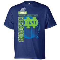 2012 Notre Dame Big East Women's Basketball Champs Tee