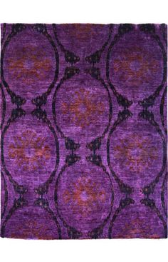 Rugs USA Overdye Olean Purple Rug  Item #: 200ABSM145PUR-P  $3329