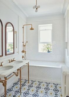 "witanddelight:""…"" vintage bathroom"