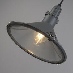Lámpara colgante VIDA gris IP44 #iluminacion #interiorismo #decoracion