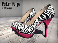 Zebra and Hot Pink <3
