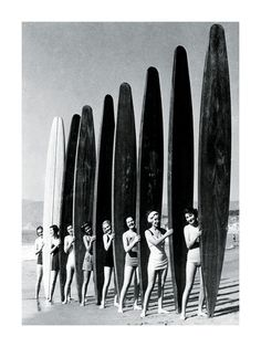 Surfing (Vintage Photography) Posters at AllPosters.com