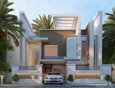 المشاركات Le Riad, House Elevation, Business Help, 3d, Mansions, House Styles, Home Decor, Modern Architecture, Facades