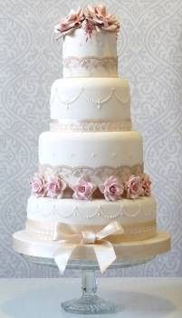 Vintage Rose By Planet Cake