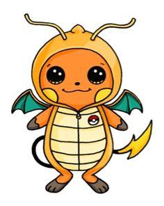 Raichu In A Dragonite Onesie Beautiful Easy Drawings, Cute Easy Drawings, Cute Kawaii Drawings, Art Drawings Sketches Simple, Cute Animal Drawings, Human Drawing, Pony Drawing, Pokemon, Hamtaro