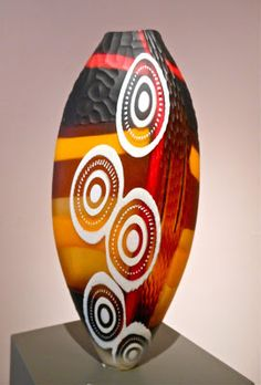 Mattia and Marco Salvadore, Opera 8. Blown and carved glass.